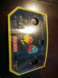 VINTAGE COLECO PACMAN TABLE TOP GAME ORIGINAL STICKER