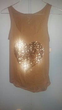 New york and co bling bling small tank top w/tags. Sand Springs