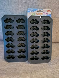 Mustache ice cube trays/ molds