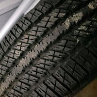 Goodyear tires with rims. I have 4 and a spare. Dumfries