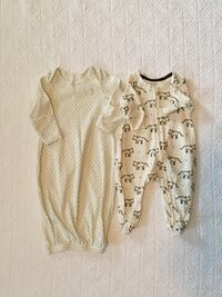 Baby Gap Gown and Footed Sleeper Size Newborn Braselton, 30517