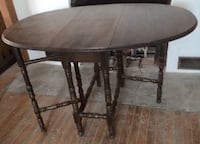 brown wooden drop leaf table Annville, 17003