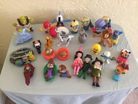 Assorted disney character plastic toys Gulfport, 39501
