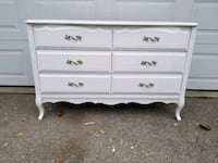 Refinished French provicial dresser 300 545 km