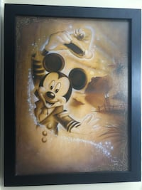 Disney Mickey Cruise Ship Painting Rare Low Number 2 of 295 Signed By Famous Disney Artist Noah with Personal Design Touch Along Sides West Warwick, 02893