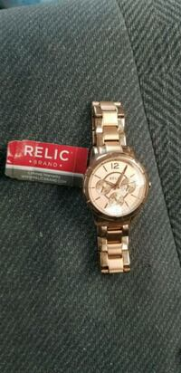 Relic rose gold watch Ontario, 91764