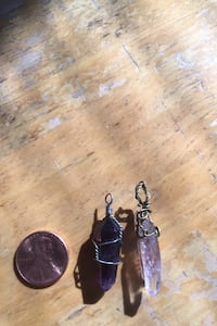 Hand wrapped pendant