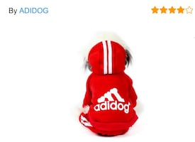 Dog clothing Adidog M 3 colors available never worn adorable