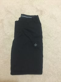 black STP sweat pants