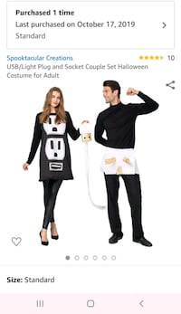 Plug and outlet costume. Atlanta