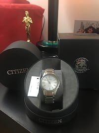 Silver CITIZEN watch with box Springfield, 22150
