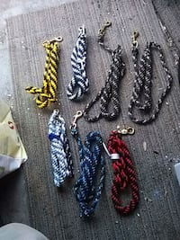 Paracord leashes Concord