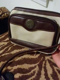 Light & dark brown purse, Multi-brown purse