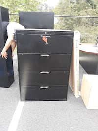 black wooden 4-drawer chest Manassas