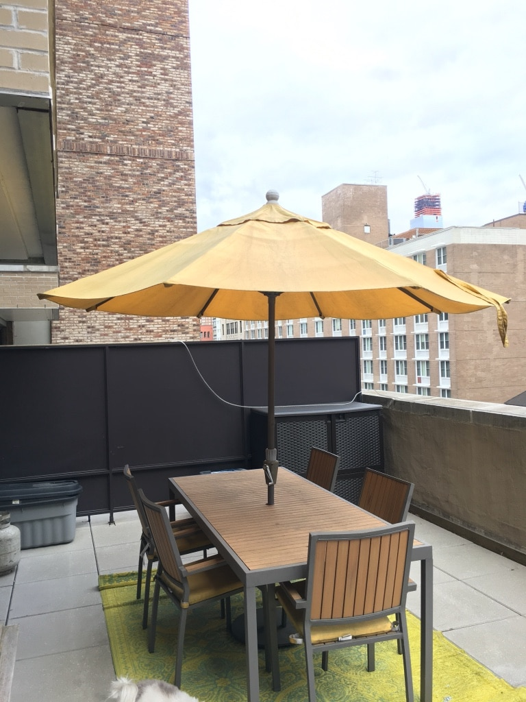 Used Crate and barrel alfresco outdoor patio dining table set for sale in New York - letgo & Used Crate and barrel alfresco outdoor patio dining table set for ...