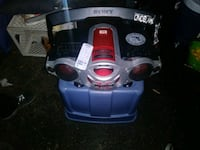 blue and black Bosch canister vacuum cleaner Modesto, 95350