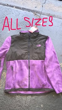 black and purple zip-up jacket Palos Hills, 60465