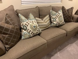 Sofa, Love seat, and accent chair set
