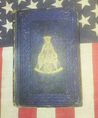 Rare 1853 1st edition The True Masonic Guide . Woodlyn