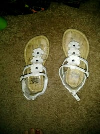 baby's white and brown sandals Asheboro, 27205