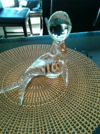 clear glass fish table decor East Northport, 11731
