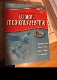 Clinical medical assisting 3rd edition book Bowie, 20715