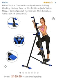 Get fit w/a verticle Climbing machine Brand new in box