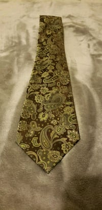 Dockers Brown and Green Paisely Tie Redlands, 92374