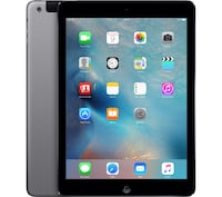 Ipad Air 16gb Space Gray Wifi + Cellular ! Montreal