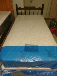 Twin size bed with new mattress Lindsay, 93247
