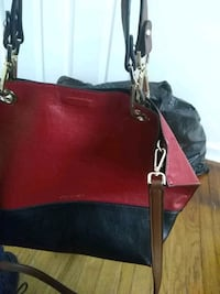 red and brown leather tote bag Riverdale Park, 20737