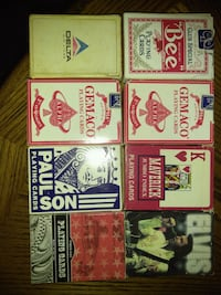 Vintage playing cards Metairie, 70005