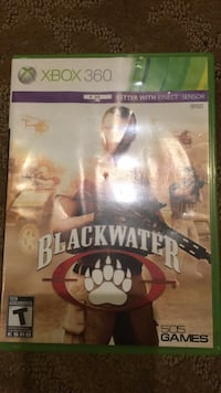 Microsoft Xbox 360 Blackwater case