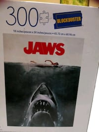 Jaws 300 piece puzzle
