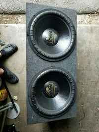 Brand new 15 inch subs they sound great  Overland Park, 66204