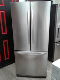 """30"""" KITCHAN AID FRENCH DOOR STAINLESS S FRIDGE تورونتو"""