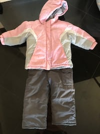Girls size 3 snowsuit