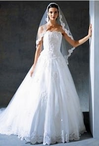 Beyaz gelinlik. White wedding dress