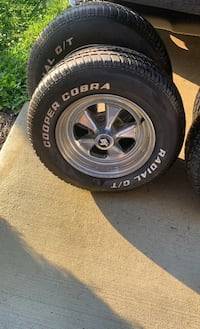 15' rims and tires GM 5 lug Capitol Heights, 20743