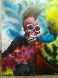 """""""Just Us""""Skull Painting Portsmouth, 23701"""
