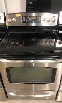 GE stainless steal electric stove  Baltimore, 21223