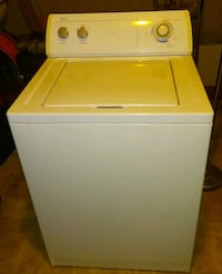 Whirlpool washer and dryer.