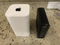 Cable modem and Apple AirPort Extreme router  Newberry, 32669
