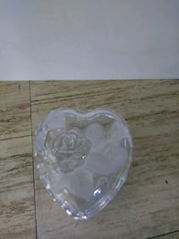 Mikasa Studio Nova Heart Shaped Crystal Glass Dish Cincinnati, 45215
