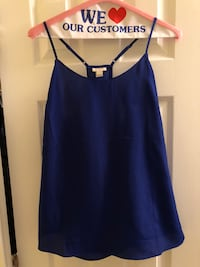 women's blue spaghetti strap top Arlington, 22201