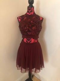 Tow pieces dress size small
