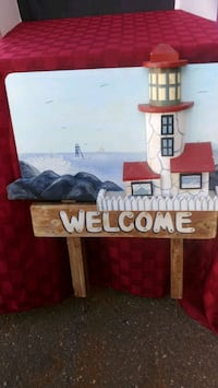 Beachie welcome sign