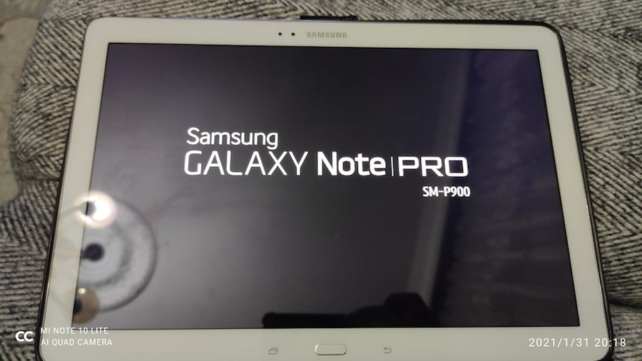 Samsung Galaxy NOTE PRO SMP900 7