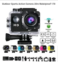 BRAND NEW Action Camera Sports Camera Premium DVR Photo Waterproof Cam Winchester, 22601