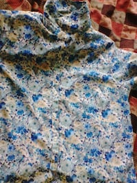 blue and white floral textile Dehradun, 248001